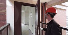 收房验房之入户门检测